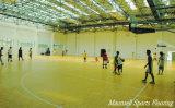 De professionele BinnenVloer van de Sporten van pvc voor het Spelen van de Gebieden van het Volleyball en van het Basketbal