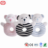 Soft Teddy Bear Plush Rattle Funny Sound Baby Toy