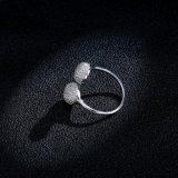 De micro Bedekte Plaatsende Ring van de Eeuwigheid van de Juwelen van de Manier van de Ring van het Zirkoon