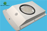 Lumière solaire Integrated sans fil du détecteur de mouvement 6W DEL pour l'éclairage de jardin et de yard