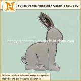 Conejo de Pascua de pie Portacandelitas Vela forma redonda