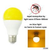 Indicatore luminoso di lampadina repellente della zanzara LED dell'indicatore luminoso giallo di E27 9W
