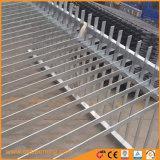 Hot-DIP電流を通された粉のコーティングの長方形のフラットバーの塀