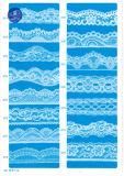 Elástica tela del cordón de la ropa / ropa / zapatos / bolso / la caja M013 (ancho: 8 cm)
