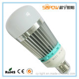 El poder más elevado ahorro de energía de 16W 22W 28W 36W E27 bombilla LED