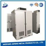 Caixa impermeável de alumínio/exemplo/cerco do OEM com processo de carimbo/fazendo à máquina do metal de folha