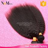 卸し売り毛の拡張安いバージンブラジルのYakiまっすぐ/ねじれたまっすぐな人間の毛髪