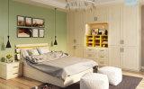 Шкаф с распашной двери + кровать (V2-WS002) для спальни мебель