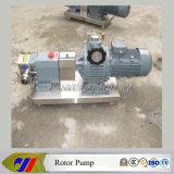 스테인리스 푸딩 회전자 펌프 도마도 소스 회전하는 로브 펌프