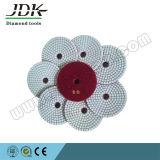Jdk 100mm 간격 2.5 mm 다이아몬드 유연한 닦는 패드