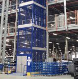 Entrepôt de marchandises hydraulique verticale de levage du fret de levage