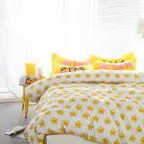 200TC 100% algodón textil hogar juego de dormitorio impreso