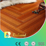 Commercial 12.3mm AC4 Crystal Cherry Sound Absorving Laminate Flooring