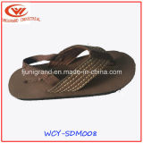 Moda tejido superior de EVA de los únicos hombres zapatos de las sandalias
