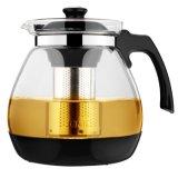 Стекло с Teapot стекло Infuser из нержавеющей стали для приготовления чая и кувшин стекло Teapot подарок