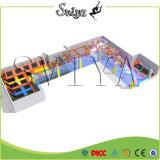 Último piso europeu de trampolim para esportes