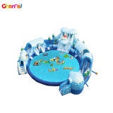 O Parque Aquático de crocodilo insuflável exterior com piscina gigante ACS0125