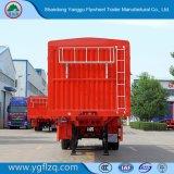 3 essieux largement utilisé jeu/Conseil/côté Fence/ Semi-remorque de camion pour Cargo/fruits ou de bétail/Mineral