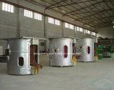 Forno de fusão de indução industrial para ferro fundido, alumínio, latão