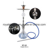 L'immaginazione media di Shisha LED del narghilé dell'acciaio inossidabile del fornitore di Customed Cina ha basato il narghilé