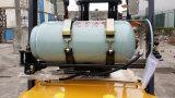 Gabelstapler des Benzin-3-3.5ton (LPG) mit Papierrollenschelle