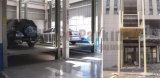 倉庫は4郵便車の上昇のプラットホームを使用した