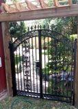 Nuevo diseño del jardín de la seguridad exterior de la pequeña puerta de hierro forjado.