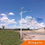 Lámparas de calle solares calientes de la venta los 6m poste 60W LED