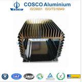 機械装置のためのカスタマイズされたアルミニウムかアルミニウム脱熱器