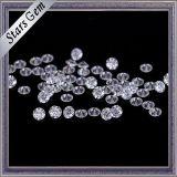 Ясный белый камень Moissanite отрезока диаманта цвета для ювелирных изделий способа