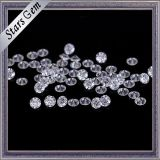 Claro Color Blanco de diamantes de talla de piedra de Moissanite de joyería de moda