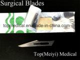 Lama chirurgica - Acciaio al carbonio / acciaio inossidabile