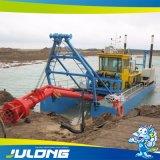 Draga di aspirazione del getto di Julong per il dragaggio del fiume