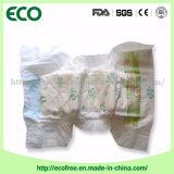 Couches-culottes remplaçables d'un bébé des prix de pente d'usine d'absorptivité élevée bon marché de constructeur