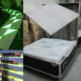 O estágio profissional do diodo emissor de luz de DMX ilumina acima Dance Floor branco para a venda