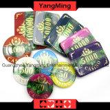 stellten die Plastikeingestellten Chips des schürhaken-760PCS/die Acrylkasino-Chips ein; für Spieler des Kasino-5 - 8 (YM-FOCP001)