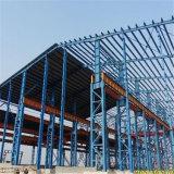 Taller constructivo prefabricado de la estructura de acero de la planta siderúrgica