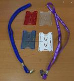 Barato corda de tracção com o titular do cartão de identificação