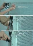 Segno trasparente di vetro LED di HD