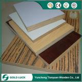 Boa qualidade de mobiliário de qualidade e1 choupo Madeira contraplacada de eco de melamina 1220x2440mm