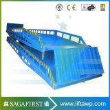 8ton 10ton Lager-bewegliche Behälter-Dock-Rampe