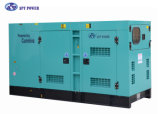generatore elettrico di inizio 100kVA Perkins Lovol di raffreddamento ad acqua 50Hz