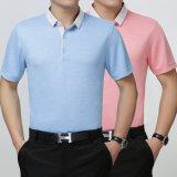 Conception faite sur commande de T-shirt de polo de logo de qualité