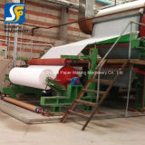 Máquina de Fabricación de pasta de papel tejido/Línea de producción de papel higiénico fabricado en China