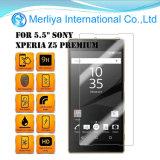 Protezioni dello schermo di vetro Tempered del telefono mobile per SONY Z5