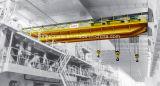 Precio doble montado sobre carriles superior de la grúa de arriba del alzamiento de la viga