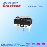 Acção instantânea micro interruptor elétrico série com o rolete da alavanca de curta distância