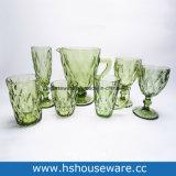 4PCSガラスタンブラーおよび1PCガラス水差しセット