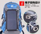 6W 1200 mA Sunpower a energia solar Celular Mochila Laptop Saco do Carregador