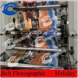 Máquina de empacotamento de Flexo Pritning da película de BOPP